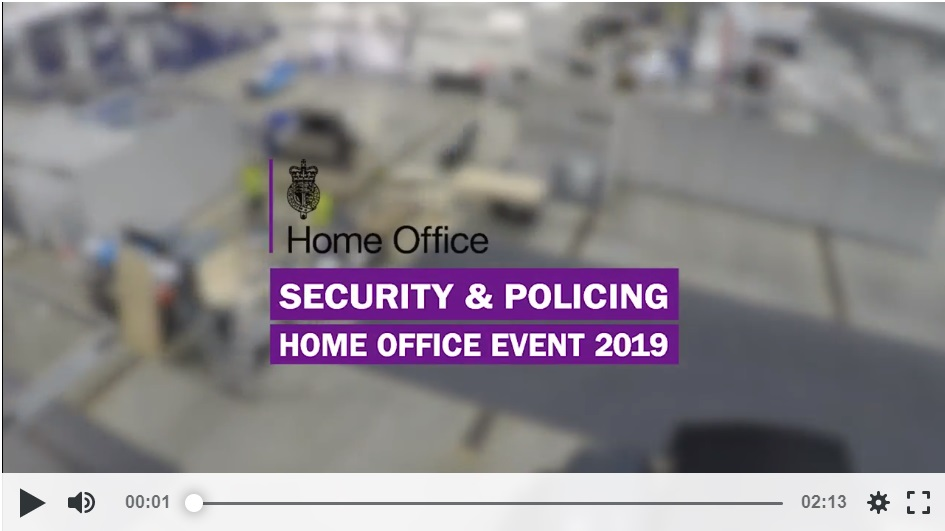Home Office Security and Policing Event 2019