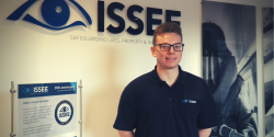 Tom does work experience at ISSEE