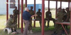 Tony Deadman experienced ISSEE instructor talks on Forces TV about ISSEE's work in Kenya