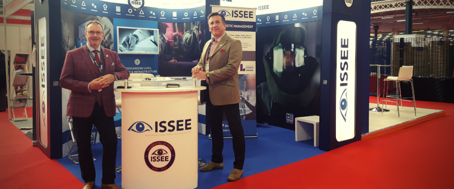 ISSEE conference stand